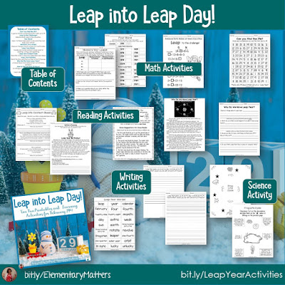 https://www.teacherspayteachers.com/Product/Leap-Year-Activities-5142092?utm_source=product%20description&utm_campaign=Leap%20Year%20Activities