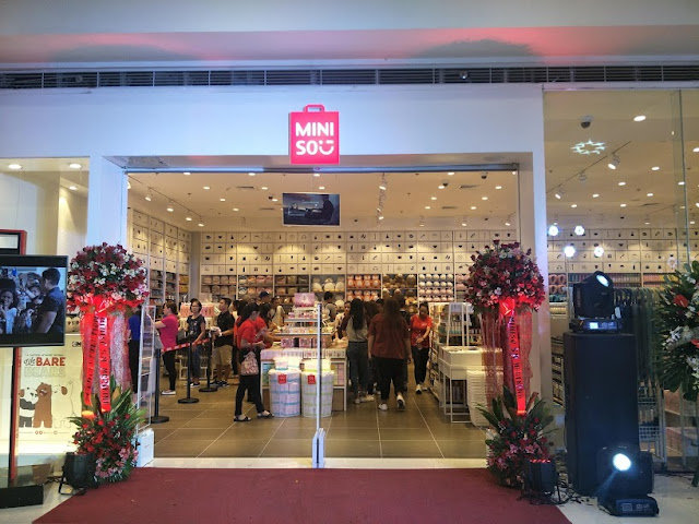 Japanese designer brand miniso opens in sm city marikina my minisos partnership with sm retail inc has made the brand closer with the pinoy consumer and in five years time they plan to have 500 stores in key stopboris Choice Image