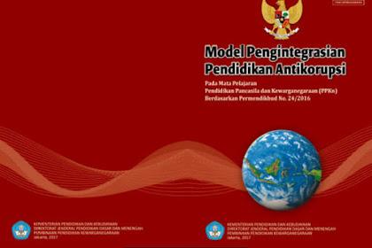 Buku Pendidikan Antikorupsi untuk SD