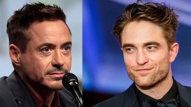 Robert Downey Jr e Robert Pattinson/Reprodução
