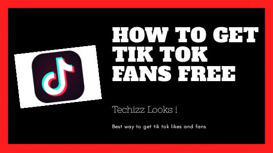 How to get tik tok fans free