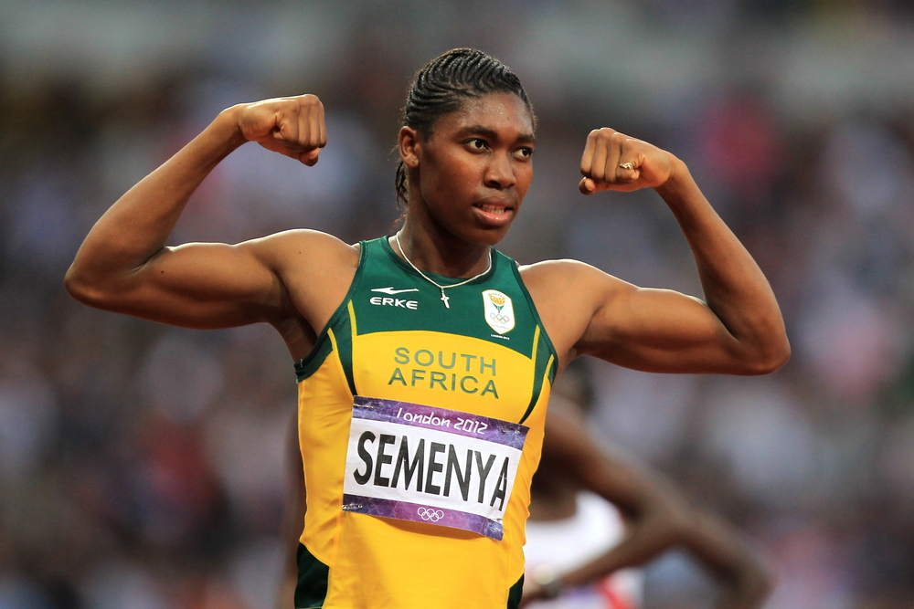 Caster Semenya Does It Again and Sets A New National 300m Record