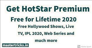 Hotstar premium accpunt free