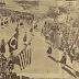 Evento esportivo e 1º de maio em Mauá no ano de 1958