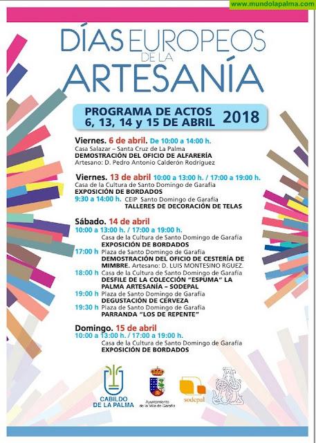 Los 'Días Europeos de la Artesanía' llegan este fin de semana a Santo Domingo de Garafía