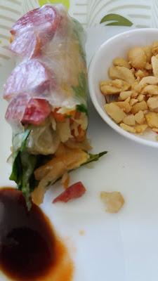 """""""Bò bía"""" Rouleaux de printemps aux légumes;""""Bò bía"""" Rouleaux de printemps aux légumes"""