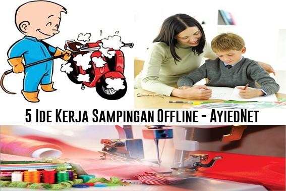 5 Ide Kerja Sampingan Offline