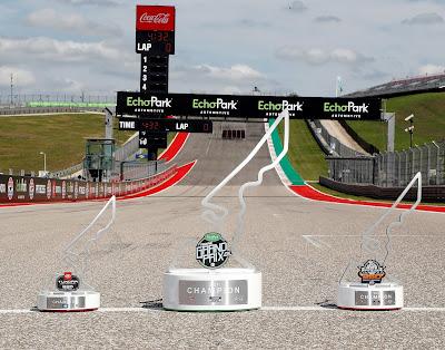 Inaugural #NASCAR At Cota Race Trophies