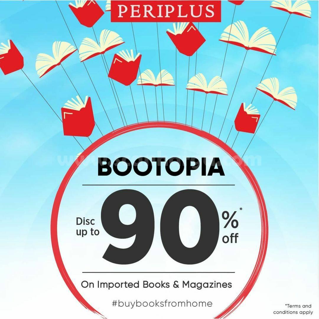 PERIPLUS Promo BOOTOPIA – Disc. up to 90% Off