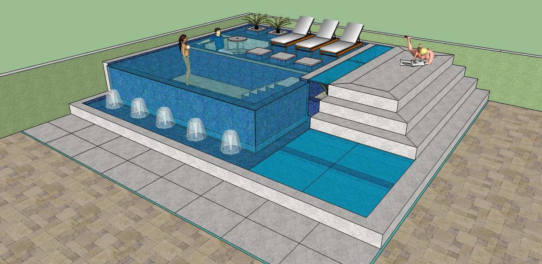 Projetos de piscinas 39 39 fotos 39 39 projetos de piscinas raoni for Cobertura piscina
