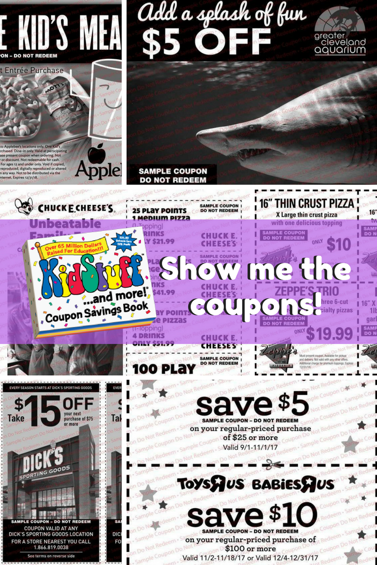 Show me the coupons! @KidStuffCoupons FUNdraising (+win a copy)