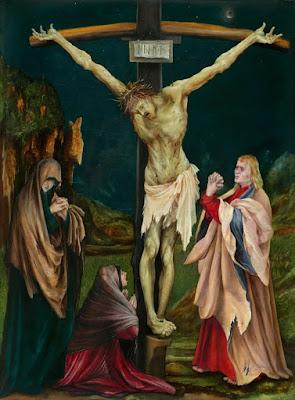 Mujeres junto a la Cruz