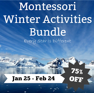 Montessori Winter Activities Bundle