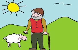 El pastorcito y el cabrito