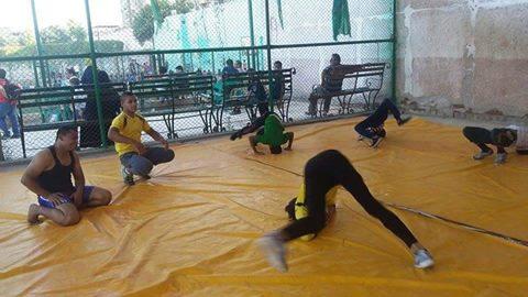 مصارعة المنيا يستعدون للموسم الجديد بالتدريب لتجهيز اللاعبين بدنيا وفنيا
