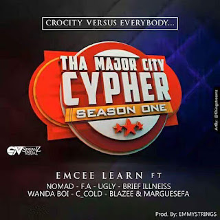 Music: Tha Major City Cypher - CroccityVsEverybody Hosted By. P. H Learn