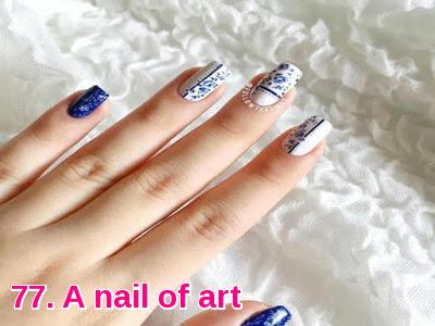A nail of art