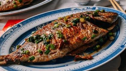 استخدام التوابل للسمك المقلي
