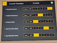 picture of Casio PXS3000 Chordana app