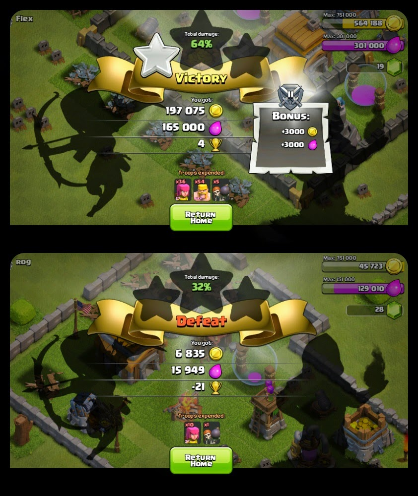 PERANG STRATEGI DI GAME CLASH OF CLANS SINICHINET