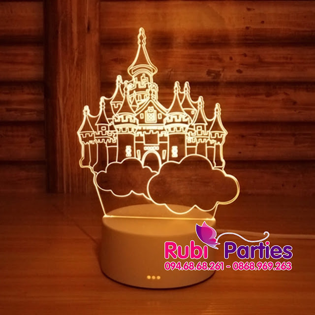 Den LED 3D Hinh thanh pho bau troi (712)