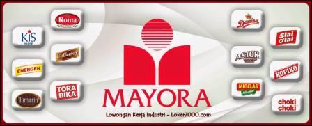 Lowongan Kerja Via Email PT Mayora Indah Tbk - Plant Tangerang Terbaru