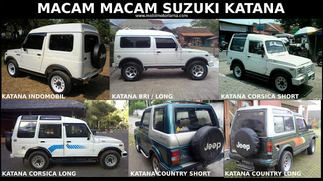 Macam-macam Suzuki Katana