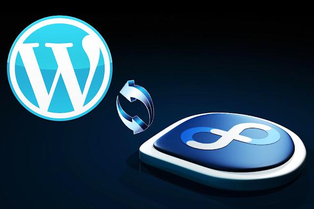 install wordpress di fedora linux