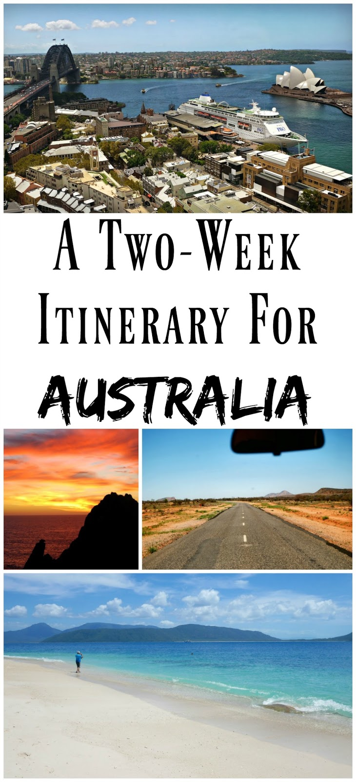 PIN FOR LATER: A two week travel itinerary for Australia! See three states, and the best of Australia in just 14 days!