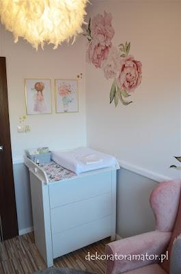 pokój dziecięcy pokój dziecka pokój dziewczynki kidsroom nursery różowy pokój
