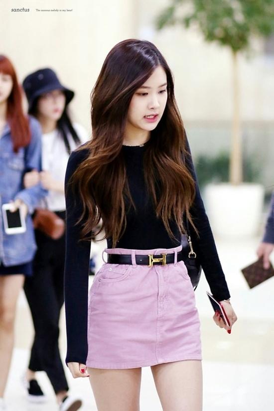 Blackpink Rose Airport Fashion Official Korean Fashion