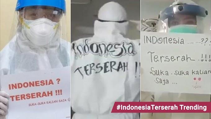 Petugas Barisan Hadapan Indonesia Luah Rasa Kecewa,Rakyat Degil