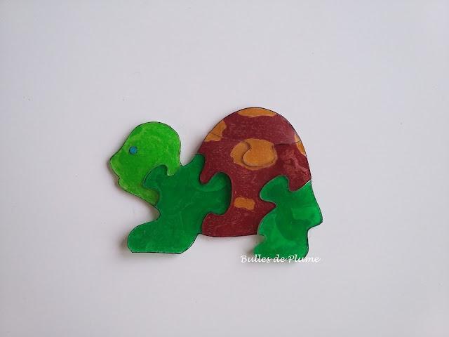 Bulles de Plume - DIY Puzzle en plastique dingue