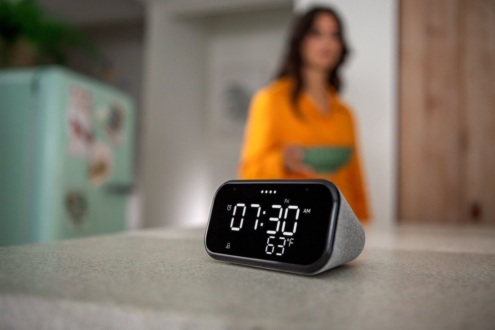 Lenovo Smart Clock Essential | Eine günstige elegante Smart Clock für jeden Raum gemacht