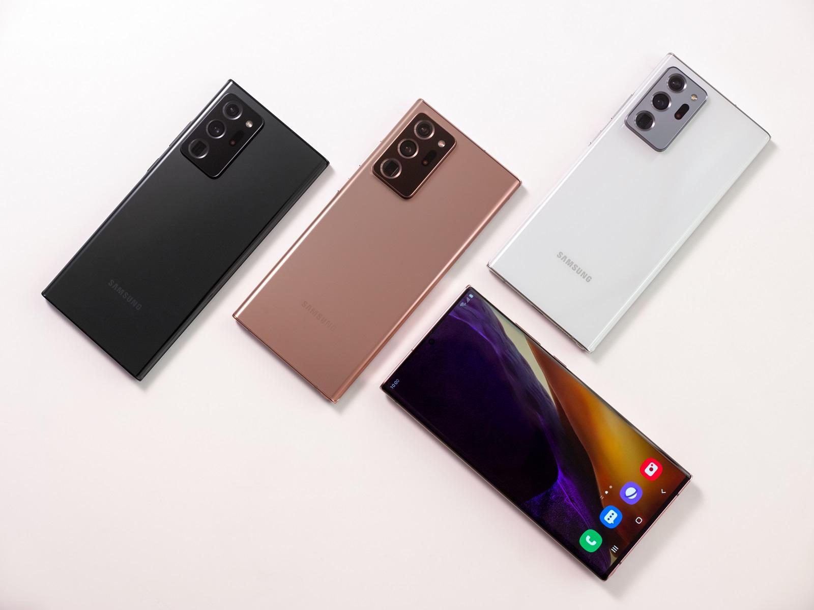 Samsung presenta Galaxy Note20: más potencia para trabajar y jugar