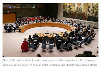 United Nations Security Council discusses Kashmir for third time since India ended autonomy