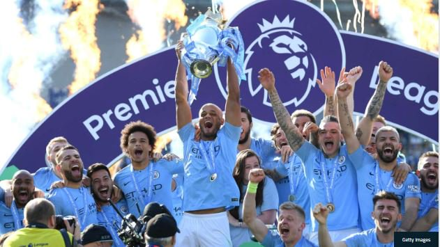 Manchester City Win Premier League After Beating Brighton 4 – 1 (Watch The Goals Highlight)