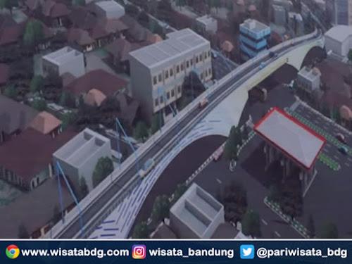 Pembangunan fly over Supratman Bandung