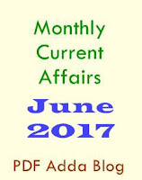 June 2017: Monthly Current Affairs PDF eBook