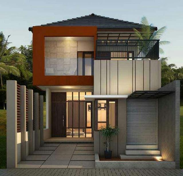 Simple Minimalist 2-Story House