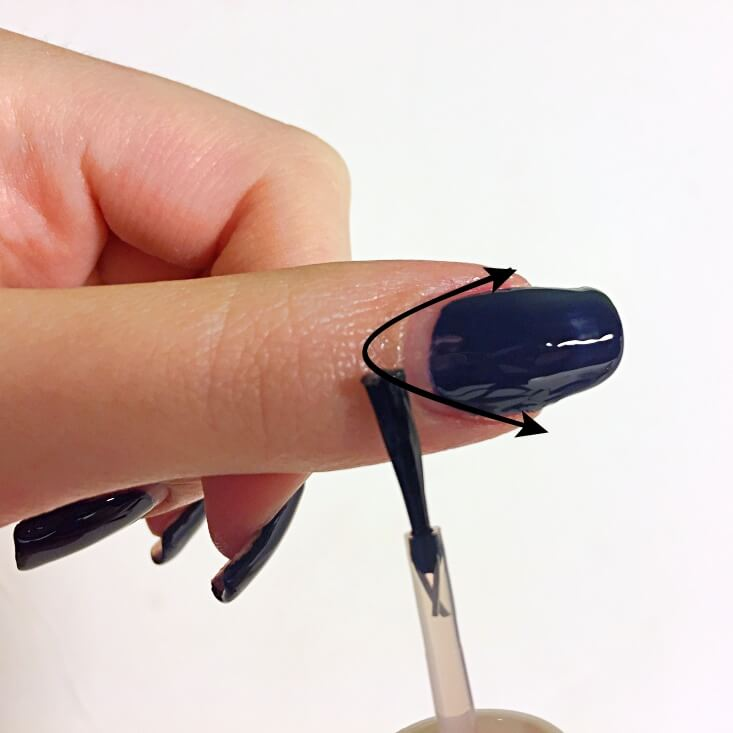 Where to apply cuticle oil