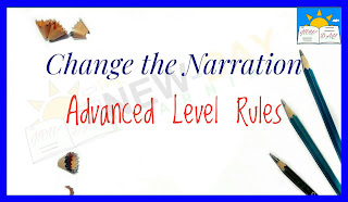 Change the Narration (Advanced Level Rules)