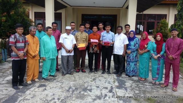 Penjemputan siswa PKL SMK N 2 Tambusai Utara di Kantor Camat Tambusai Utara 22