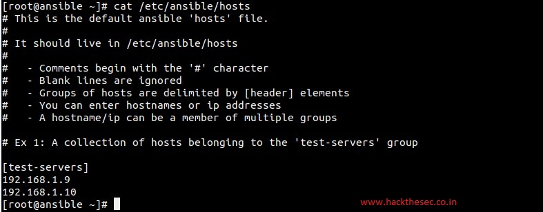 How to Install and use Ansible (Automation Tool) in CentOS