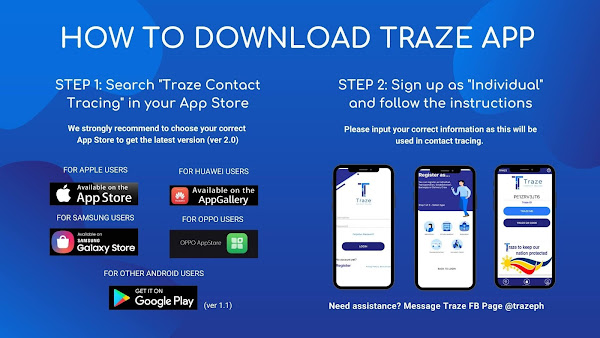 How to download the Traze App?