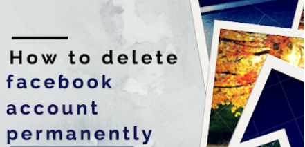 Delete Facebook Account Permanently In Mobile