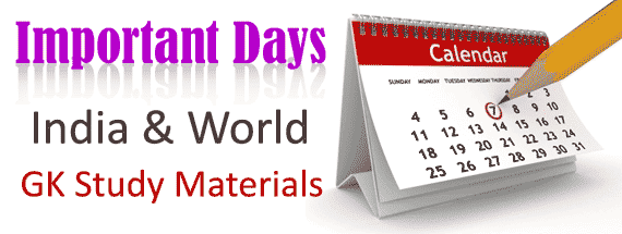 All Important Days Pdf