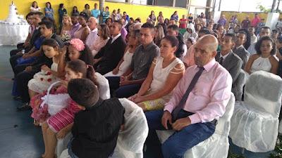 Comunidade do Capinzal celebra casamento comunitário de 19 casais