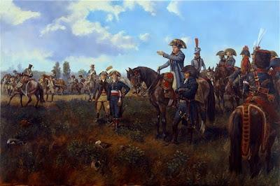 Napoleone e Desaix a Marengo