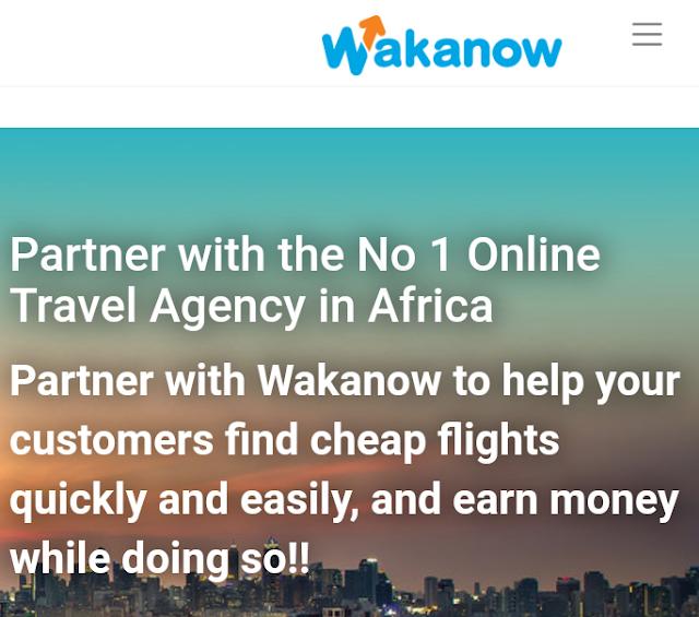 Wakanow Affiliate - Join Wakanow.Com Affiliate Program & Earn Money